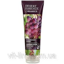 Desert Essence, Органічний шампунь з червоним виноградом, ( 237 мл )