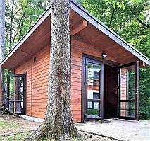 Деревянные хозблоки в скандинавском стиле от производителя. Scandinavian style barns - 07