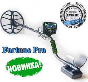 Металлоискатель Металошукач Фортуна ПРО с OLED дисплеем. FM трансмиттер,металоискатель