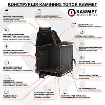 Каминная топка KAWMET W17 (16.1 kW) EKO, фото 2