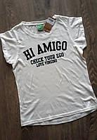 Футболка  для девочки Hi Amigo ,бренд  Vingino, 10  лет