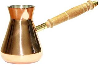 Турка медь Ориджинал 250 мл для приготовления кофе в кафе бар ресторан