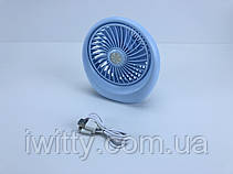 Портативный вентилятор Mini Fan SQ1978 на аккумуляторной батарее 1000 mAh, фото 3