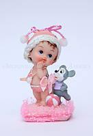 Фигурки новорожденных —  ДЕВОЧКА D21-02