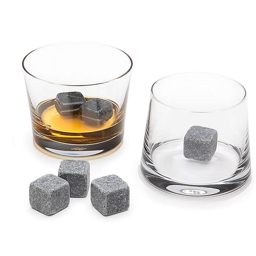 Камни для виски Whiskey Stones 9 камней 2см