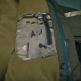 Горка мультикам флисовая подкладка олива , фото 7