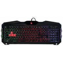 Клавиатура проводная USB A4Tech Bloody B210 игровая с подсветкой, черная новая