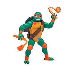 Фігурка Черепашка-Ніндзя Микеланджело з Бойовим Панциром Серії Еволюція Teenage Ninja Turtles Michelangelo (12 Cм) 80828