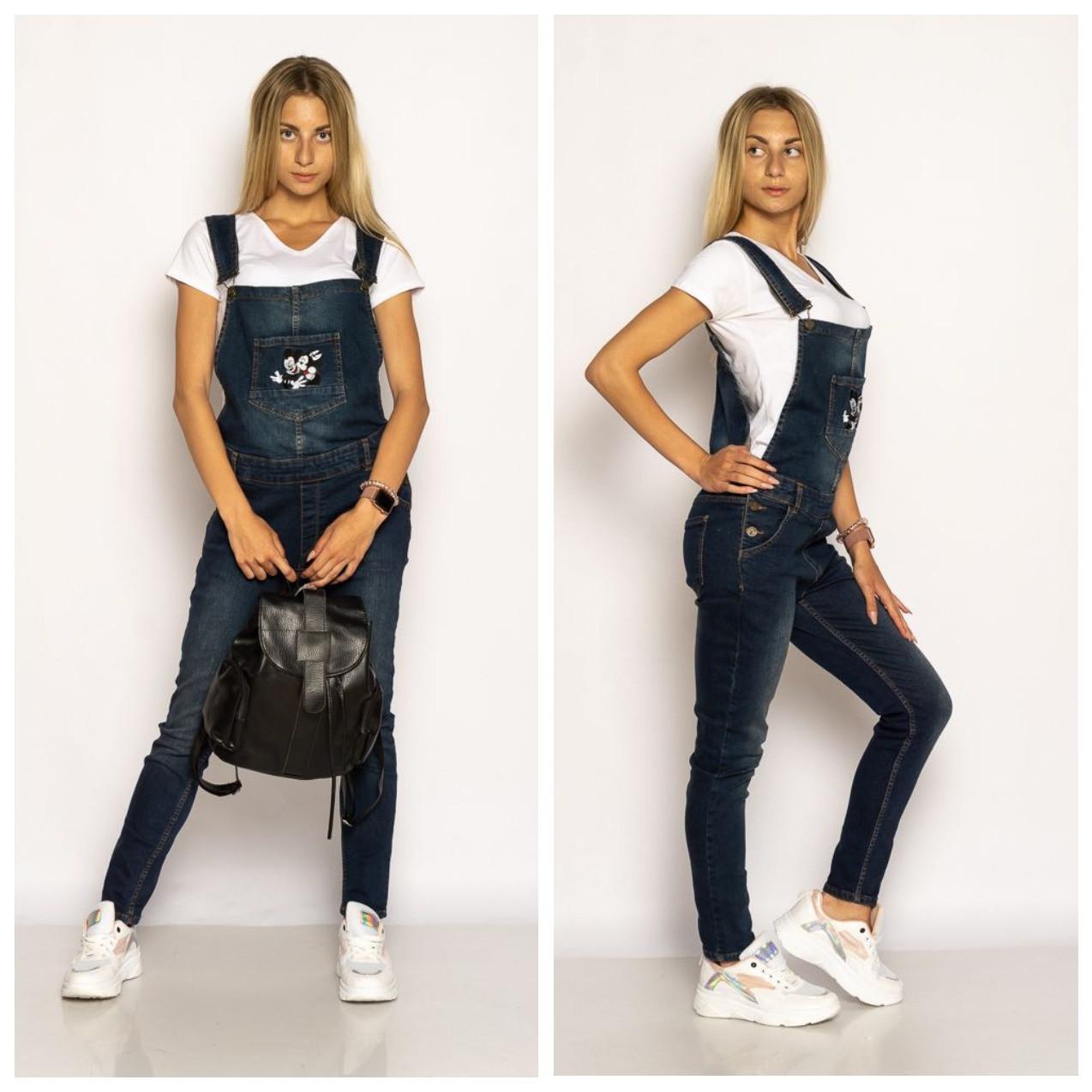 Комбинезон женский  джинсовый 134P3330