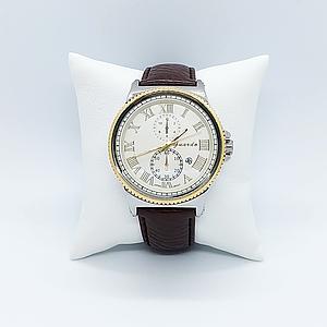 Чоловічі наручні годинники Guardo 10421 Brown-Silver-Gold-White 1134-0068