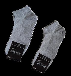 Носки мужские укороченные вставка сеточка хлопок стрейч р.25-27.От 6 пар по 7,50грн.