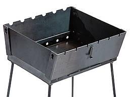Мангал чемодан на 6 шампуров, 2 мм