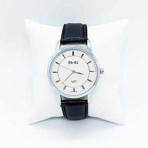 Чоловічі наручні годинники Chronte Eb-Ez 328-1 Black-Silver-White
