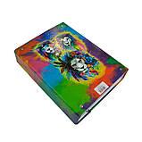 Папка-короб на резинке, А4, 60 мм, полноцветная, PP-покрытие, Lion, фото 3