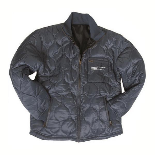 Куртка - утеплитель стеганая темно-синяя Mil-tec