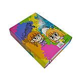 Папка-короб на резинке, А4, 60 мм, полноцветная, PP-покрытие, Cute, фото 3