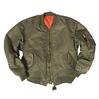 Куртка летная MA1 нейлон оливковая Mil-tec