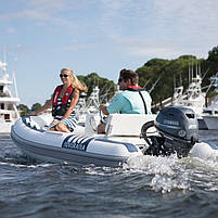 Двигун для човна Yamaha, 25 лс, 4 тактний, F 25 GETL - підвісний двигун для яхт і рибальських човнів, фото 4