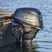 Двигун для човна Yamaha, 25 лс, 4 тактний, F 25 GETL - підвісний двигун для яхт і рибальських човнів, фото 7