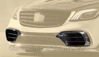 MANSORY front bumper air intake for Mercedes S63/65 AMG W222