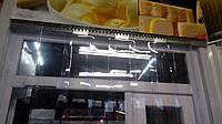 Завеса ленточная из ПВХ 90см х 2м, 6 лент. В киоск, ларек.