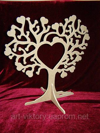 Дерево любви на подставке (39,5 х 40 см), декор, фото 2