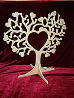 Дерево любви на подставке (39,5 х 40 см), декор