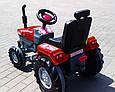 Большой педальный трактор Веломобиль Пилсан Active Traktor, фото 2