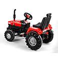 Большой педальный трактор Веломобиль Пилсан Active Traktor, фото 3