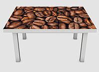 Наклейка на стол Zatarga Зерна кофе 600х1200 мм Z180226 SM, КОД: 1804355