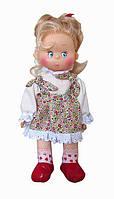 Кукла мягконабивная милая. С элементами ПВХ. Прошитыми волосами