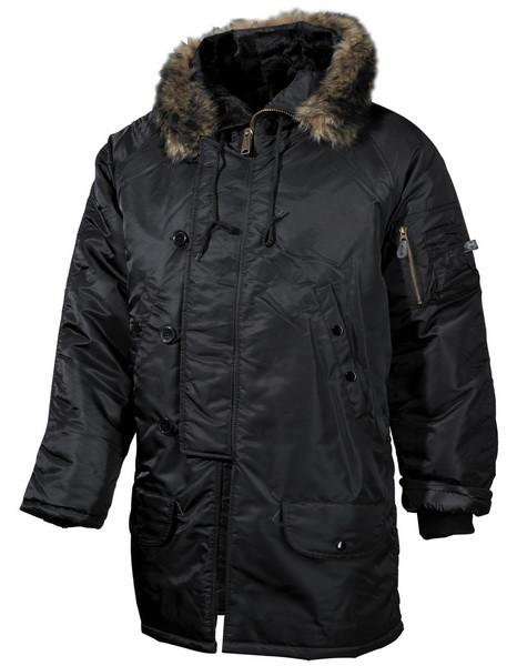 Куртка чорна зимова MFH