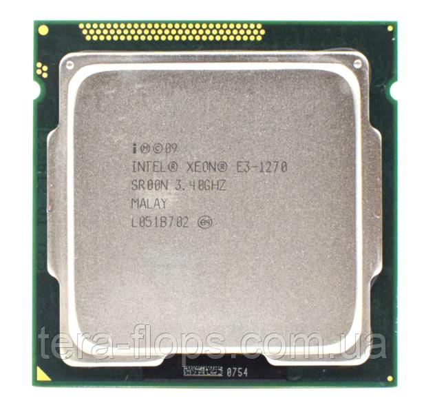 Процессор Intel Xeon E3 1270 LGA 1155 (CM8062307262403) Б/У