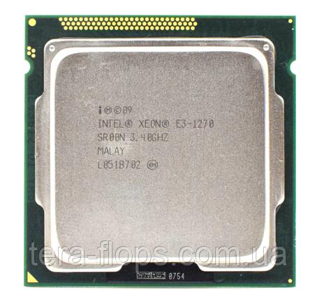Процессор Intel Xeon E3 1270 LGA 1155 (CM8062307262403) Б/У, фото 2