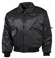 Куртка летная черная MFH