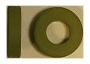 GR737 Гумовий ущільнювач крану пару та горячої води, 15,5x7,5x4mm, Viton, Grimac
