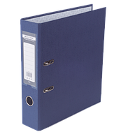 Папка-реєстратор А4 70 мм LUX синя JOBMAX, Buromax
