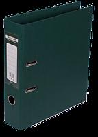 Папка-реєстратор А4 70 мм двостороння ELITE т-зелена, Buromax