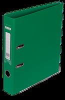 Папка-реєстратор А4 50 мм двостороння ELITE зелена, Buromax