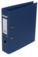 Папка-реєстратор А4 70 мм двостороння ELITE т-синя, Buromax