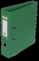 Папка-реєстратор А4 70 мм двостороння ELITE зелена, Buromax