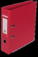 Папка-реєстратор А4 70 мм двостороння ELITE червона, Buromax