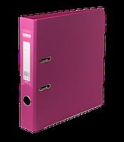 Папка-реєстратор А4 70 мм двостороння ELITE рожева, Buromax