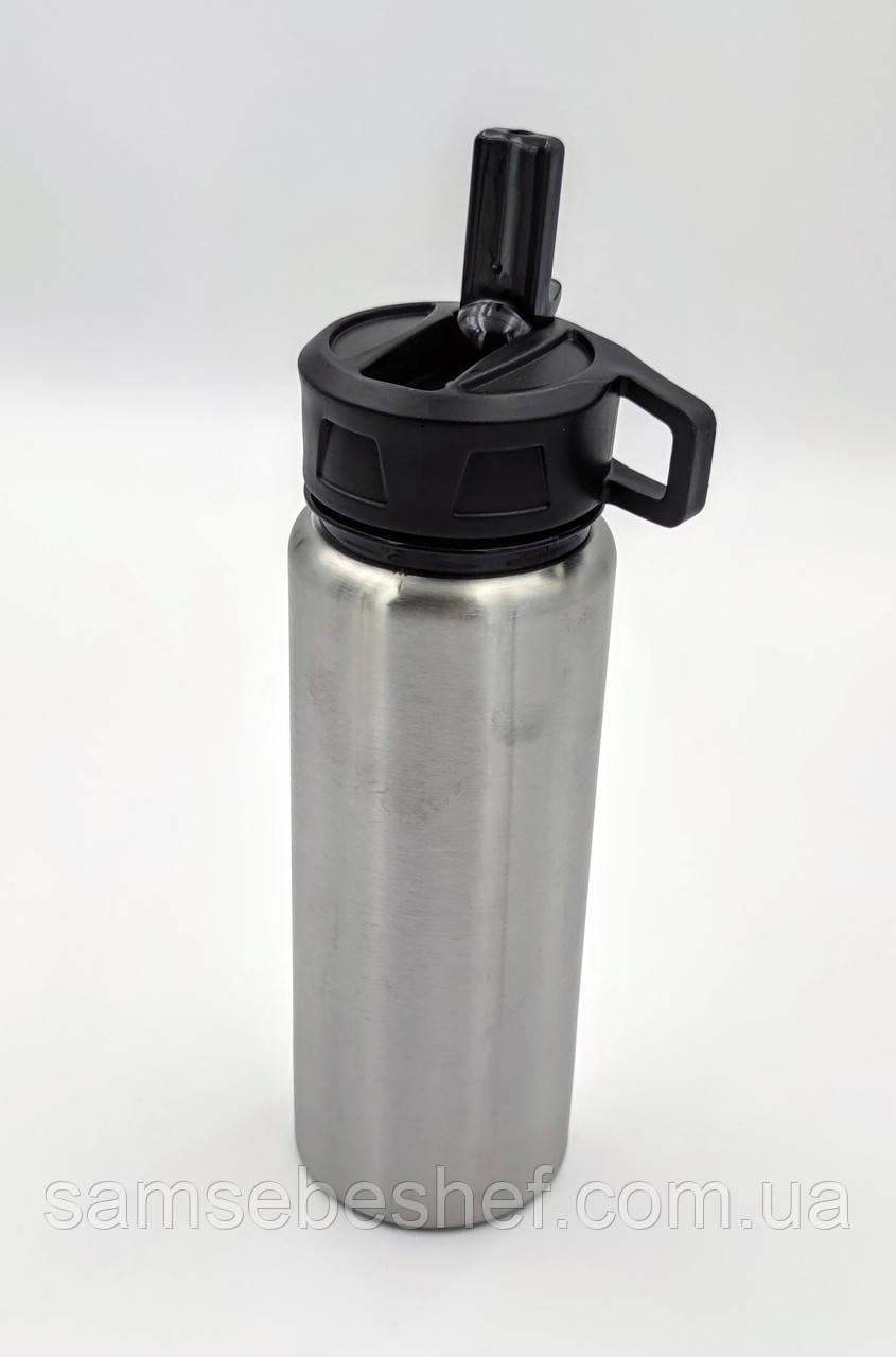 Спортивная бутылка для воды фляга из нержавеющей стали 750 мл Bergoff Cook&Co 2801727