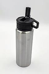 Спортивна пляшка для води фляга з неіржавіючої сталі 750 мл Bergoff Cook&Co 2801727
