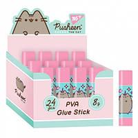 """Клей-олівець 8г, PVA """"Pusheen"""" Yes"""