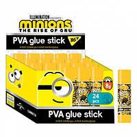 """Клей-олівець 8г, PVA """"Minions"""" Yes"""