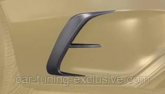 MANSORY air outtake splitter for rear bumper for Mercedes S-class W222