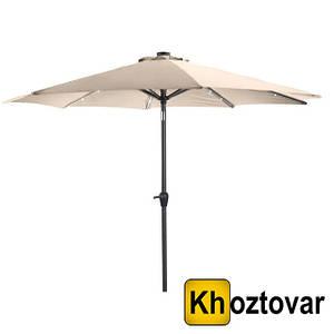 Вітрозахисний зонт з ручкою для підйому | 2.7 м