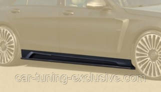 MANSORY side skirts for Mercedes S-class W222